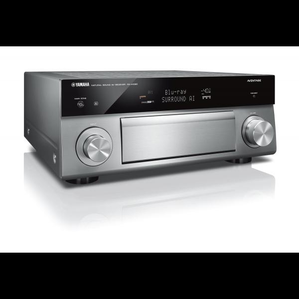 Yamaha RX-A1080 Aventage AV Receiver Titanium MusicCast Dolby Vision Alexa