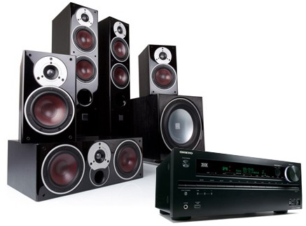 onkyo 5 1 home theater system. onkyo tx-nr1030 w/ dali zensor 7 (5.1) 5 1 home theater system e