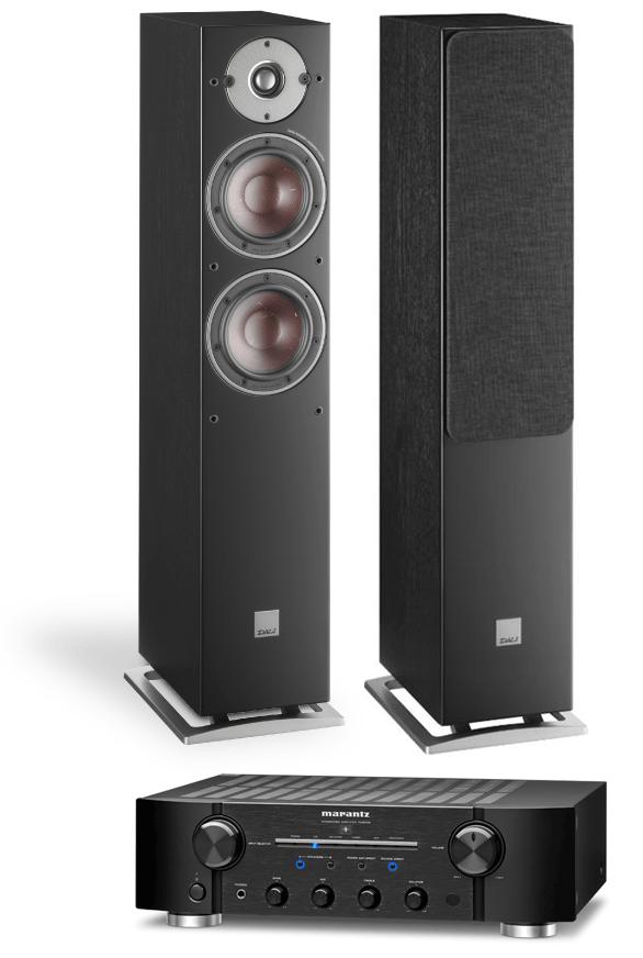 Marantz PM8006 Amplifier w/ Dali Oberon 5 Speakers