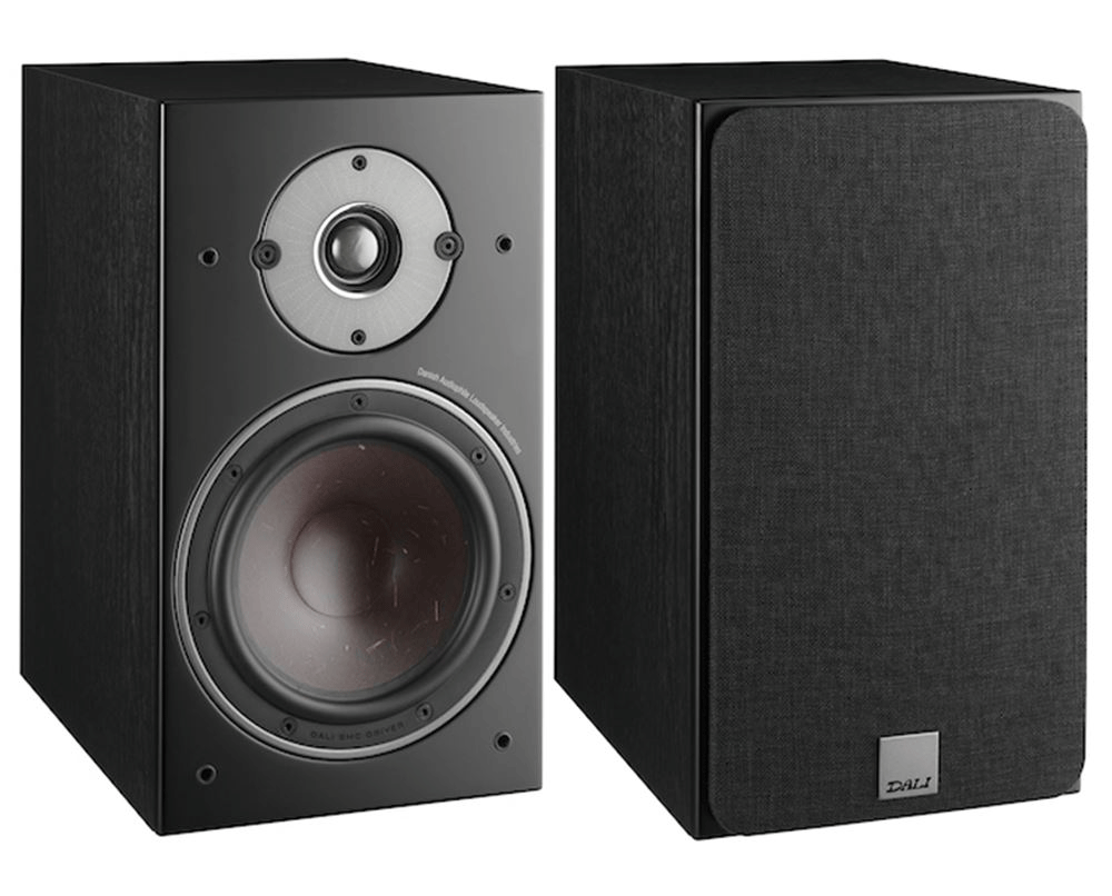 The DALI OBERON 1 Is A Ultra Compact Bookshelf Speaker Cabinet Size Enables An Optimal Balance Between Inner Volume For Bass Performance And