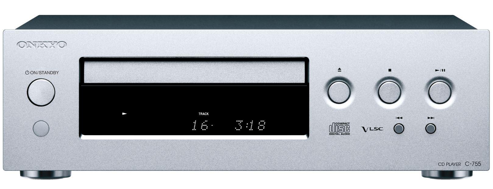 Onkyo C-755 CD Player - Silver