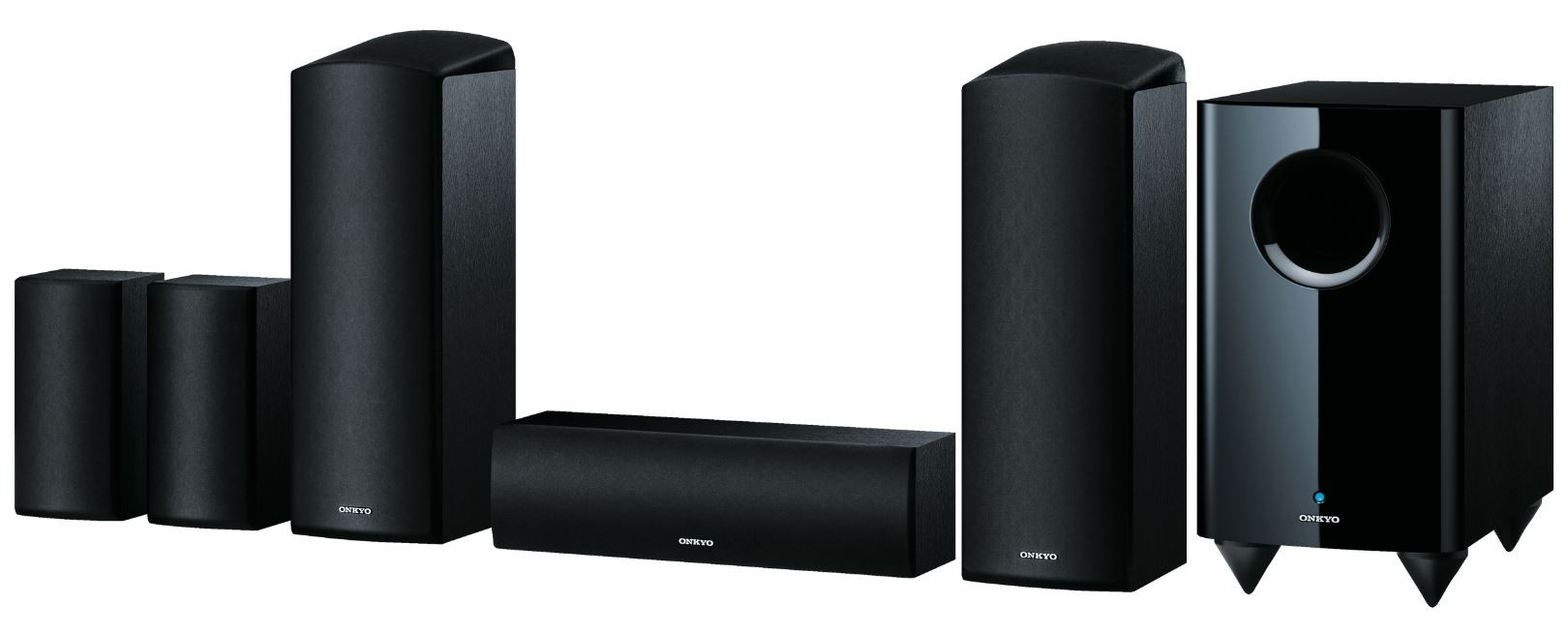 onkyo dolby atmos speakers. onkyo sks-ht588 5.1.2 channel home cinema dolby atmos speaker system speakers