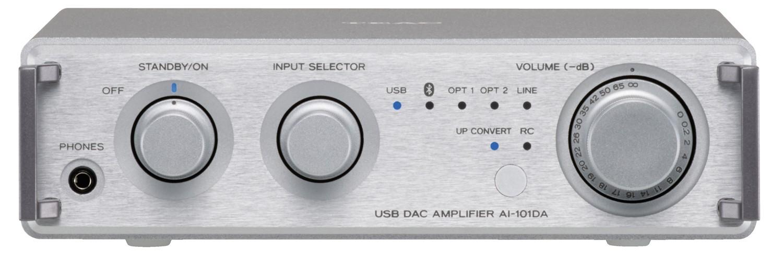 TEAC AI-101DA Integrated Amplifier (Silver)