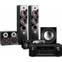Denon AVR-X2300W AV Receiver w/ Dali Zensor 5 Speaker Package 5.1
