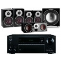 Onkyo TX-NR656 AV Receiver w/ Dali Zensor 3 Speaker Package 5.1