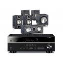 Yamaha RX-V681 AV Receiver w/ Monitor Audio Bronze 2 Speaker Package 5.1