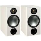 Monitor Audio Bronze 2 Bookshelf Speakers (White Ash, Damaged)