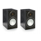 Monitor Audio Silver 1 Speakers (Open Box, Black Oak)