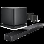 Bose Soundbar 700 w/ BM500 w/ Surround Speakers 300