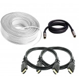 (2 x HDMI, 30m Speaker Cable, 3m Subwoofer Cable)