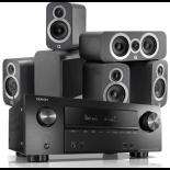 Denon AVR-X2500H AV Receiver w/ Q Acoustics 3010i Cinema Pack 5.1