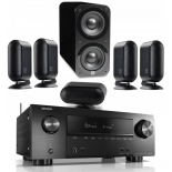 Denon AVR-X2500H AV Receiver w/ Q Acoustics 7000i PLUS 5.1 Speaker Package