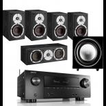 Denon AVR-X2500H AV Receiver w/ Dali Spektor 2 Speaker Package 5.1