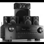 Denon AVR-X2500H AV Receiver w/ Wharfedale Diamond DX-2 Speaker Package