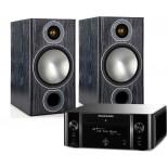 Marantz MCR611 w/ Monitor Audio Bronze 2 Speakers