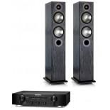 Marantz PM6006 Amplifier w/ Monitor Audio Bronze 5 Speakers