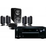 Onkyo TX-NR676E AV Receiver w/ Q Acoustics Q7000i PLUS Speaker Package 5.1