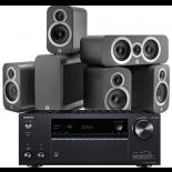Onkyo TX-NR686 AV Receiver w/ Q Acoustics 3010i Speaker Package 5.1