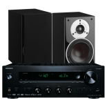 Onkyo TX-8270 Network Stereo Receiver w/ Dali Zensor 1 Speakers