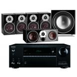 Onkyo TX-NR686 AV Receiver w/ Dali Zensor 1 Speaker Package 5.1