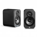 Q Acoustics 3010 Speakers (Open Box, Graphite)
