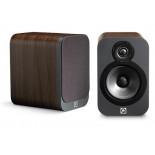 Q Acoustics 3010 Speakers (Open Box, Walnut)
