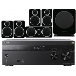 Sony STR-DN1080 AV Receiver w/ Wharfedale Diamond DX-2 Speaker Package