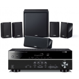Yamaha RX-V383 AV Receiver w/ Yamaha NS-P40 Speaker Package 5.1