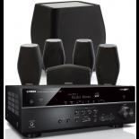 Yamaha RX-V585 AV Receiver w/ Monitor Audio MASS Speaker Package 5.1