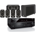 Yamaha RX-V585 AV Receiver w/ Q Acoustics 3010i 5.1 Cinema Pack