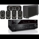 Yamaha RX-V585 AV Receiver w/ Q Acoustics 3010i Cinema Pack 5.1