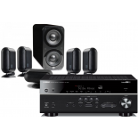 Yamaha RX-V683 AV Receiver w/ Q Acoustics 7000i PLUS Speaker Package 5.1