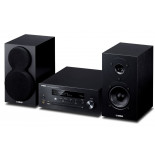 Yamaha MCR-N470D w/ Yamaha NSBP150 (Open Box, Black)