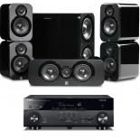 Yamaha RX-A670 AV Receiver w/ Q Acoustics 3000 Speaker Package 5.1