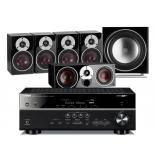 Yamaha RX-V683 AV Receiver w/ Dali Zensor 1 Speaker Package 5.1