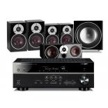 Yamaha RX-V583 AV Receiver w/ Dali Zensor 3 Speaker Package 5.1