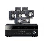 Yamaha RX-V683 AV Receiver w/ Monitor Audio Bronze B2 Speaker Package 5.1