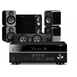 Yamaha RX-V683 AV Receiver w/ Q Acoustics 3000 Speaker Package 5.1