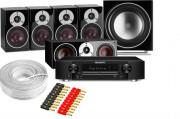 Marantz NR1609 AV Receiver w/ Dali Zensor 1 Speaker Package 5.1