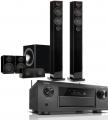 Denon AVC-X6500H AV Receiver w/ Monitor Audio Radius 270 Speaker Package
