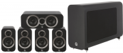 Q Acoustics 3010i 5.1 Cinema Pack Carbon Black