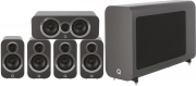 Q Acoustics 3010i 5.1 Cinema Pack Graphite Grey