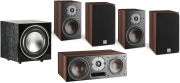 Dali Oberon 1 5.1 Speaker Package Dark Walnut