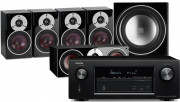 Denon AVR-X2400H AV Receiver w/ Dali Zensor 1 Speaker Package 5.1