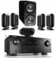Denon AVR-X2500H AV Receiver w/ Q Acoustics 7000i PLUS 5.1 Speaker Package