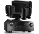 Denon AVR-X2500H AV Receiver w/ Q Acoustics 7000i SLIM 5.1 Speaker Package