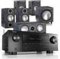 Denon AVR-X3600H AV Receiver w/ Monitor Audio Bronze 2 5.1 Speaker Package