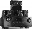 Denon AVR-X2500H AV Receiver w/ Wharfedale DX-2 Speaker Package