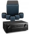 Denon AVR-X2600H AV Receiver w/ Monitor Audio MASS 5.1 Gen2