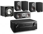 Denon AVR-X2600H AV Receiver w/ Dali Oberon 1 5.1 Speaker Package